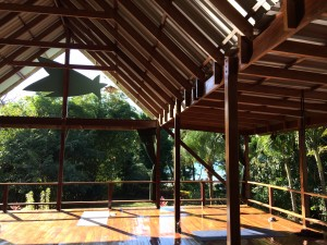 Shooting Star yoga studio Pavones, costa Rica. Beautiful place to practice.