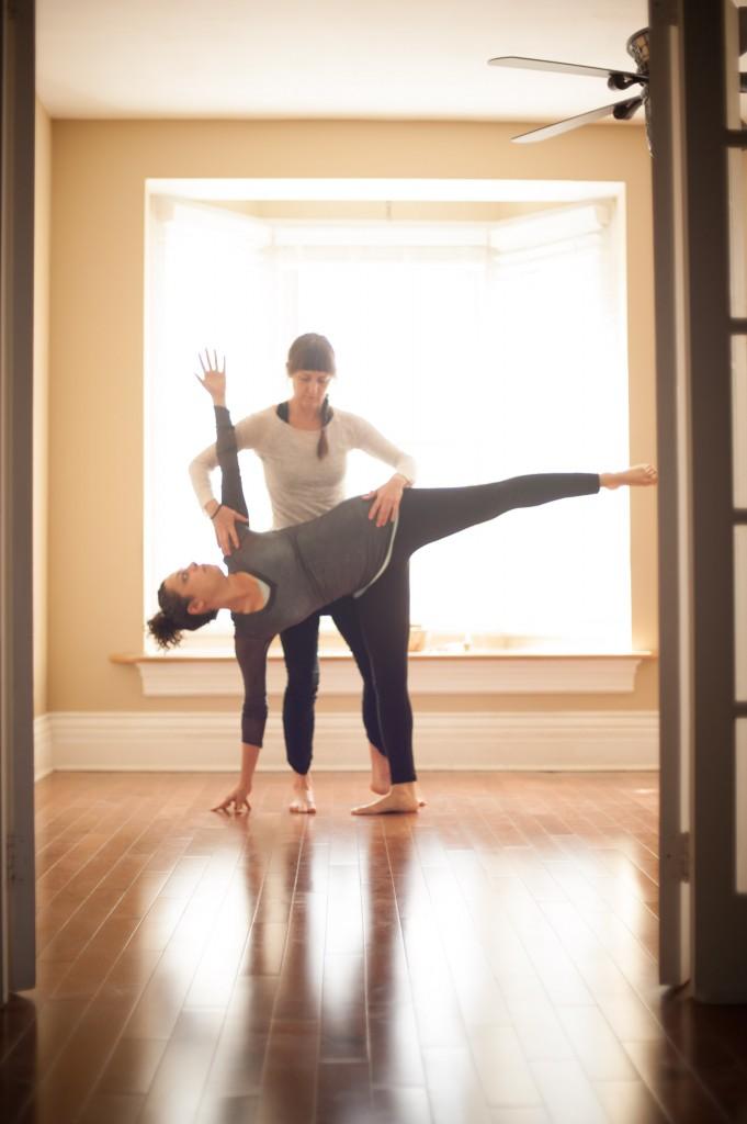 Private yoga lessons Toronto & Orangeville