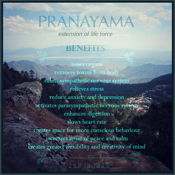 benefits of Pranayama breathing