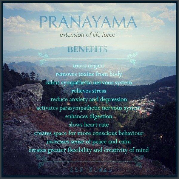 benefits of Pranayama breathing