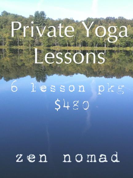 Private yoga lessons toronto