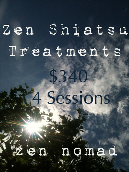 Zen Shiatsu Treatments with Sonja den Elzen Toronto