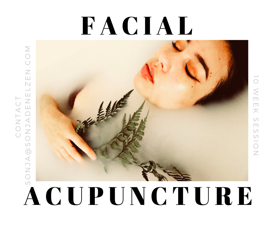 Facial acupuncture 3